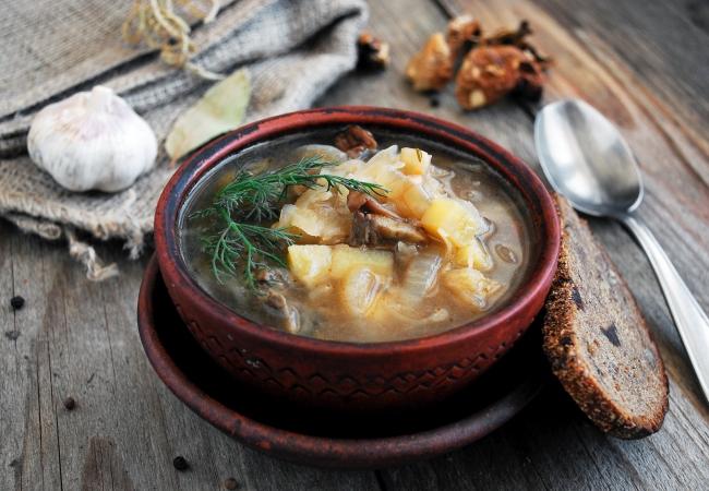 великий пост рецепты супов