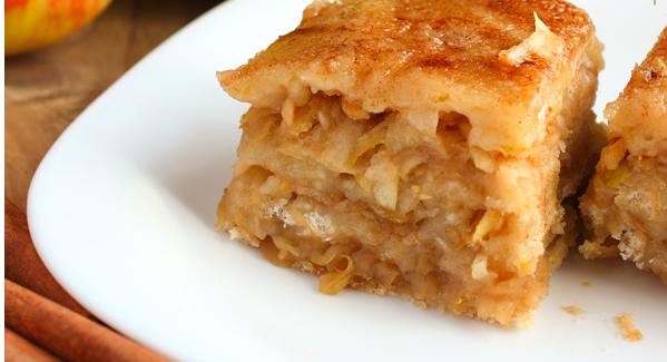 Яблочный пирог на манке рецепт с