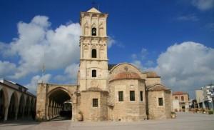 Китион на Кипре построили храм имени Лазаря