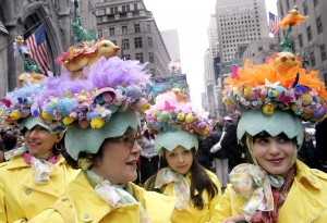 New Yorkers Show Off Their Finery At Annual Easter Parade