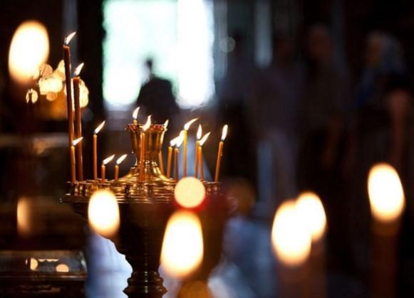 молитва в храме