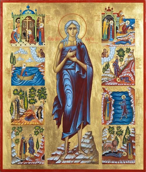 мария египетская икона пример