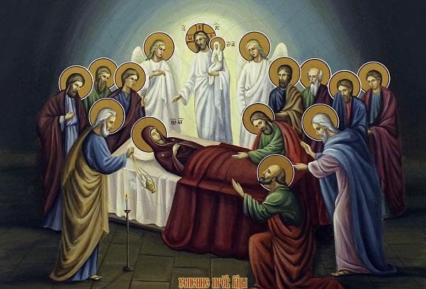 Успение Пресвятой Богородицы икона