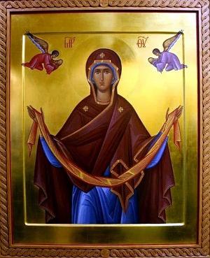 Икона Приснодевы Марии
