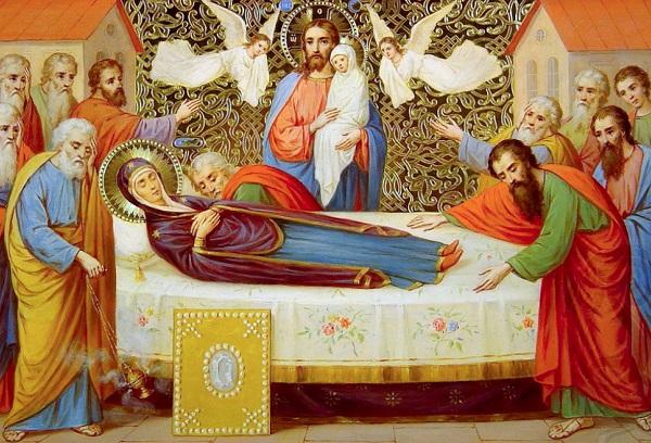 Похоронили Богородицу в гробнице