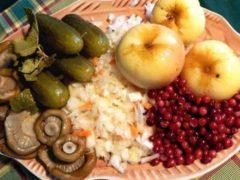 Рождественский пост 2019: календарь питания по дням